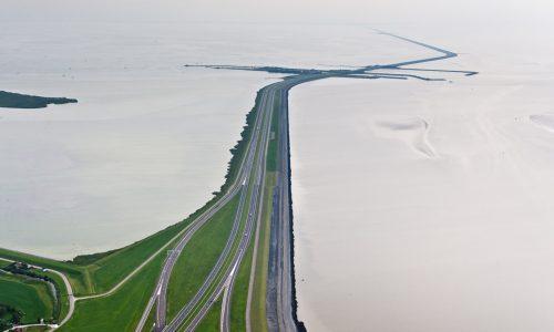 Afsluitdijk © Rijkswaterstaat - foto: Joop van Houdt